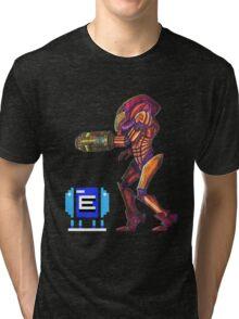 Retro Metroid Samus Arana Nintendo Tri-blend T-Shirt