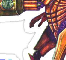 Retro Metroid Samus Arana Nintendo Sticker