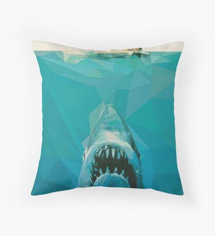 """""""You're Going To Need A Bigger Boat"""" Throw Pillow"""