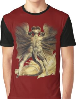 William Blake: The Great Red Dragon Graphic T-Shirt