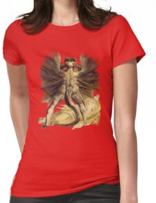 William Blake: The Great Red Dragon Womens Fitted T-Shirt