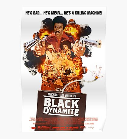 Black Dynamite 2 Movie Poster Poster