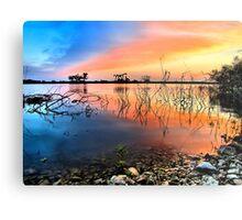 Sunrise Over Lake Texoma Metal Print