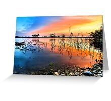 Sunrise Over Lake Texoma Greeting Card