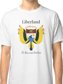 Liberland - To live and let live Classic T-Shirt