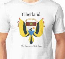 Liberland - To live and let live Unisex T-Shirt