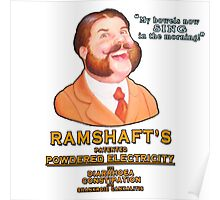 Ramshaft's Patented Powdered Electricity Poster