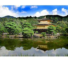 Golden Pavilion : きんかくじ Photographic Print