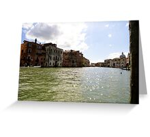 The Canal Greeting Card
