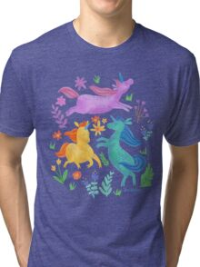 Unicorn Dreams Tri-blend T-Shirt