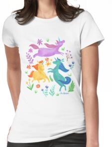 Unicorn Dreams Womens Fitted T-Shirt