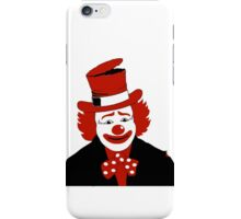 Mister Cool Clown With Dotted Bowtie iPhone Case/Skin