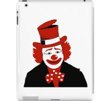 Mister Cool Clown With Dotted Bowtie iPad Case/Skin