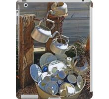Washing Dishes - Country Style iPad Case/Skin