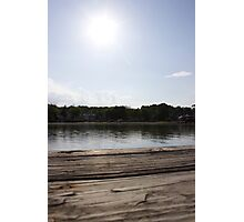 a dock Photographic Print