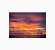 Vivid Sunset at Truk Lagoon Unisex T-Shirt
