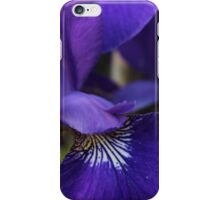 a purple flower dude iPhone Case/Skin