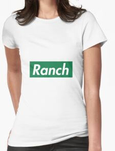Ranch - Green - Eric Andre - Supreme font Womens Fitted T-Shirt