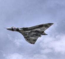 Avro Vulcan XH558 by Nigel Bangert
