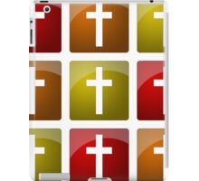 Colorful Christian Crosses iPad Case/Skin