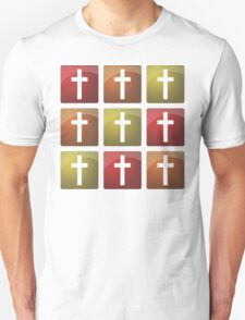Colorful Christian Crosses T-Shirt
