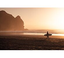 Piha Beach - Auckland - NZ Photographic Print