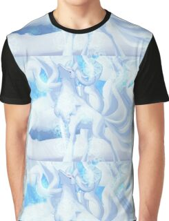a snow woof Graphic T-Shirt
