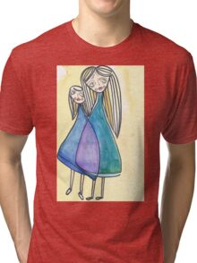 side by side Tri-blend T-Shirt