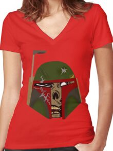 Dead or Alive Women's Fitted V-Neck T-Shirt