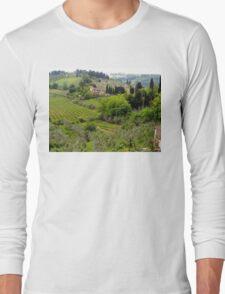 Italian Countryside Long Sleeve T-Shirt