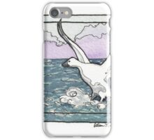 Snow Goose Watercolor iPhone Case/Skin