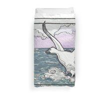 Snow Goose Watercolor Duvet Cover