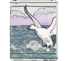 Snow Goose Watercolor iPad Case/Skin