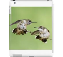Feisty Hummers iPad Case/Skin