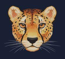 Cheetah Face One Piece - Long Sleeve
