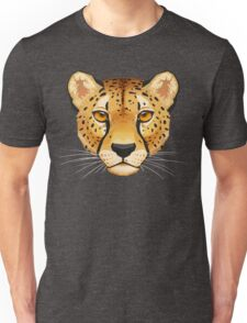 Cheetah Face Unisex T-Shirt