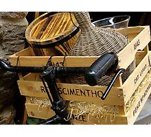 Basket of Goods Photographic Print