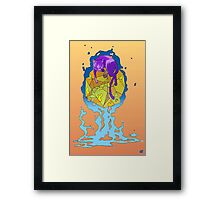 Fly Kitty Framed Print