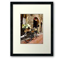 Beautiful Bike Framed Print