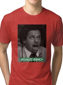 Legalize Ranch - Green - Eric Andre Picture - Supreme font Tri-blend T-Shirt