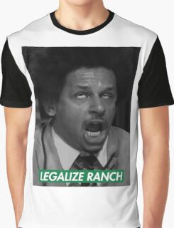 Legalize Ranch - Green - Eric Andre Picture - Supreme font Graphic T-Shirt