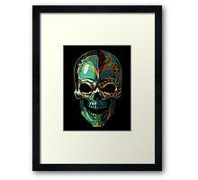 Dia de los Muertos skull Framed Print