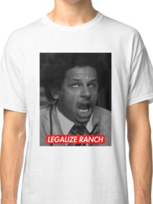 Legalize Ranch - Red - Eric Andre Picture - Supreme font Classic T-Shirt