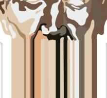 Greek head - desert. Sticker