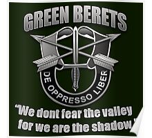 Logo - The Green Berets Poster
