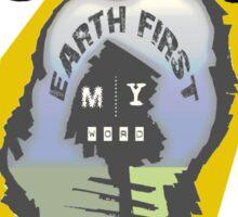 earth first Sticker