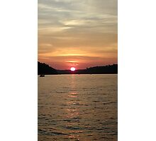 Time For A Sunset Photographic Print