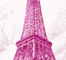 1939 France Eiffel Tower Postage Stamp Sticker