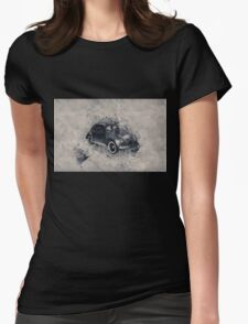 vw clasic Womens Fitted T-Shirt