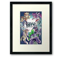 Return of the Bats! Framed Print